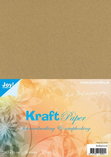 Joy! Crafts - Kraft cardstock - A4