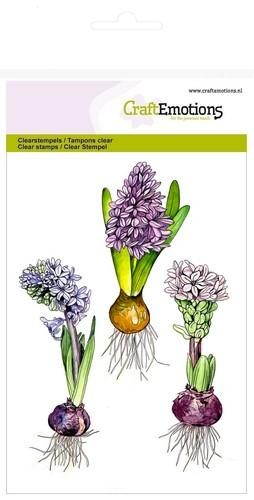 Clearstamp CraftEmotions - A6 Hyacinth