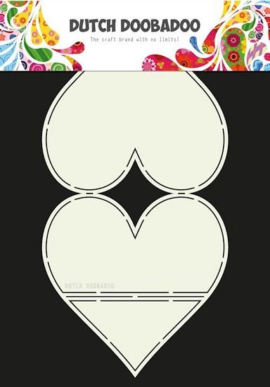 Dutch Doobadoo - Dutch Easel Card Art - Heart