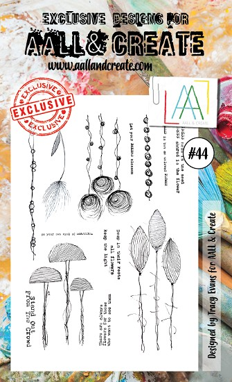 AALL & CREATE - Clearstamp A6 - set #44