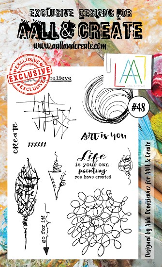 AALL & CREATE - Clearstamp A6 - set #48
