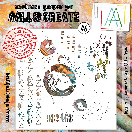 AALL & CREATE - Stencil set #6