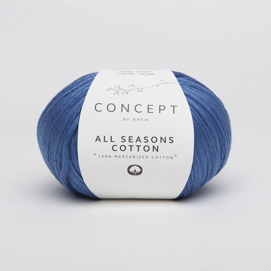 Breiwol Katia - Concept - All Seasons Cotton - Kleur 19