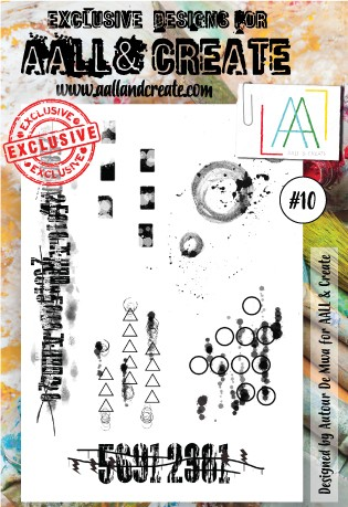 AALL & CREATE - Clearstamp A6 - set #10