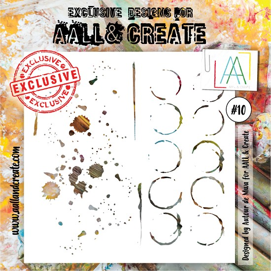 AALL & CREATE - Stencil set #10