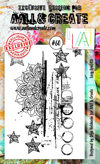 AALL & CREATE - Clearstamp A6 - set #60