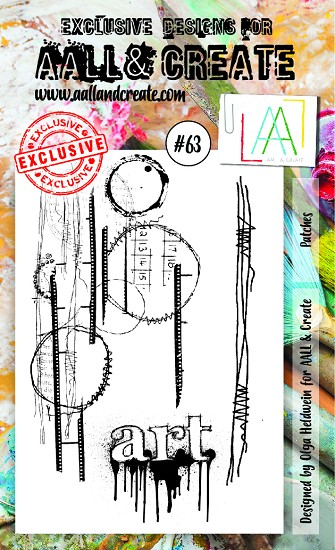 AALL & CREATE - Clearstamp A6 - set #63