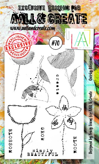AALL & CREATE - Clearstamp A6 - set #70