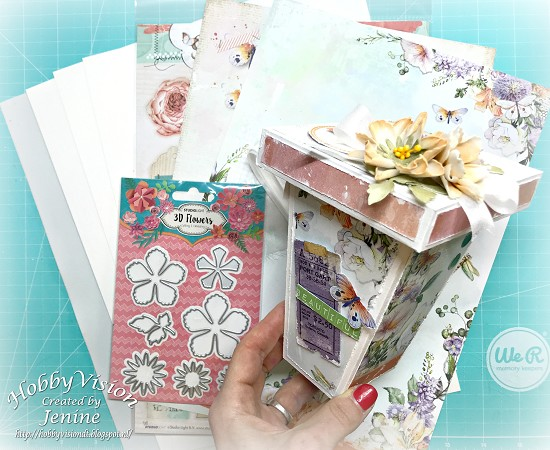 DIY pakket - Bloemenvaas So Spring