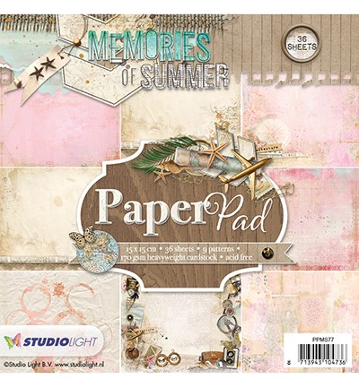 Studio Light - Memories of Summer - Paperpad PPMS77