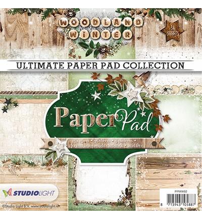 Studio Light - Ultimate Paperpad - Woodland Winter nr.92