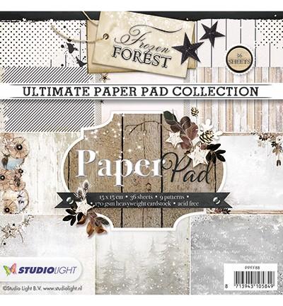 Studio Light - Ultimate Paperpad - Frozen Forest nr. 88