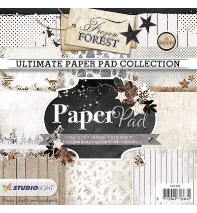 Studio Light - Ultimate Paperpad - Frozen Forest nr. 87