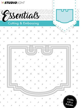Studio Light - Embossing Die Cut - Stencil Essentials nr.120
