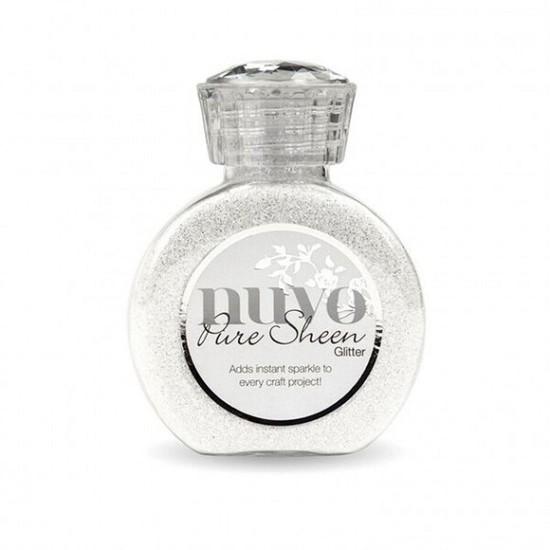 Nuvo - Pure Sheen Glitter - 100ml - Ice White
