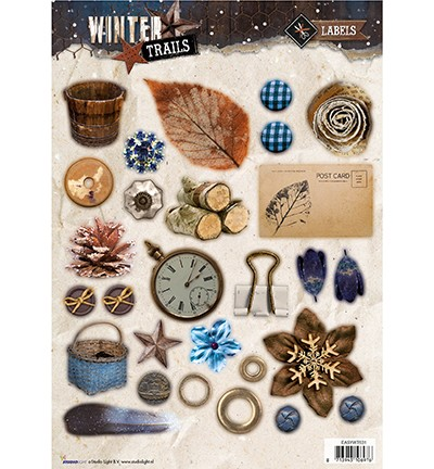 Studio Light - Winter Trails - Stansvel EASYWT631