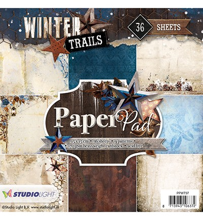 Studio Light - Winter Trails - Paperpad PPWT97