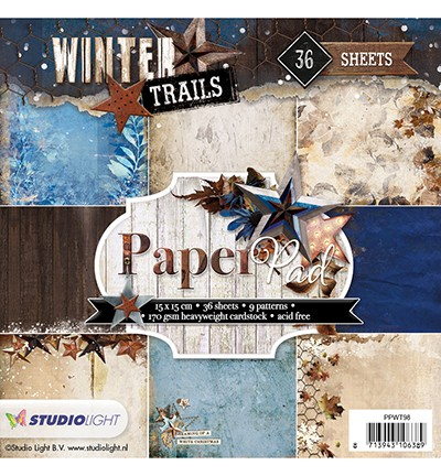 Studio Light - Winter Trails - Paperpad PPWT98