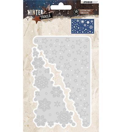 PRE-ORDER 5 - Studio Light - Winter Trails - Stansmal STENCILWT105