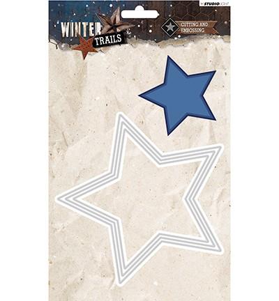 Studio Light - Winter Trails - Stansmal STENCILWT107