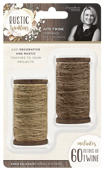 Sara Signature - Rustic Wedding - Jute Twine