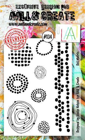 AALL & CREATE - Clearstamp A6 - set number 134