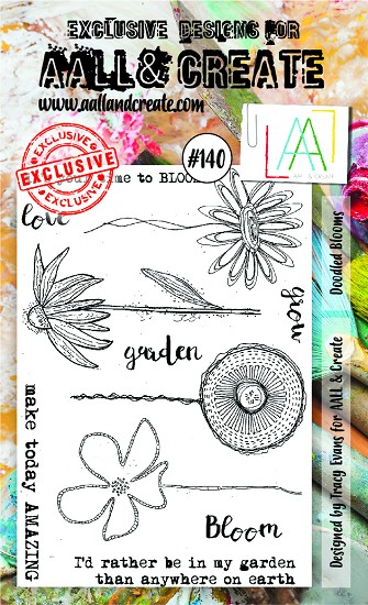 AALL & CREATE - Clearstamp A6 - set number 140