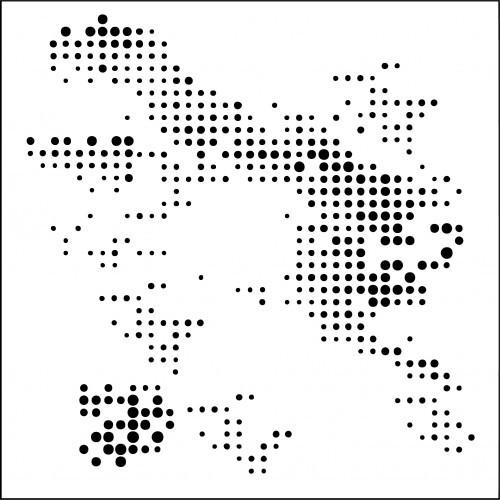 AB Studio - Mask stencil - nr 14