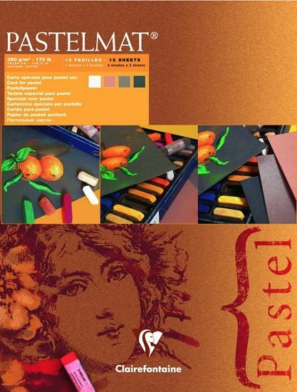 ClairFontaine - Pastelmat papier 18 x 24 cm - Nummer 2