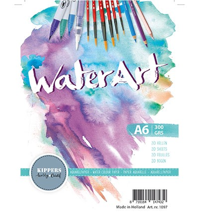 WaterArt - Aquarelpapier - 300 grams - A6 (20vl)
