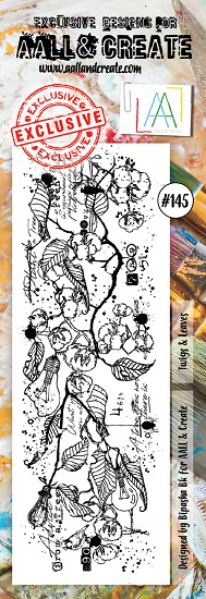 AALL & CREATE - Clearstamp border - Set number 145