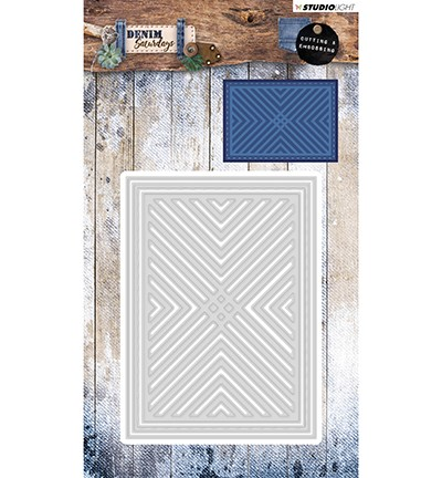 PRE-ORDER 3 - Studio Light - Clutting and Embossing Die - Denim Saturdays nr. 138