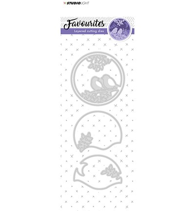Studio Light - Embossing Die Cut Stencil - Favourites nr.146