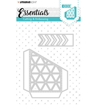 PRE-ORDER 4 - Studio Light - Embossing Die Cut Stencil - Essentials nr.144