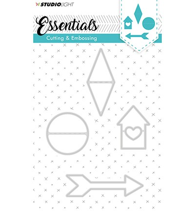 Studio Light - Embossing Die Cut Stencil - Essentials nr.142