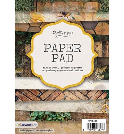 PRE-ORDER 4 - Studio Light - Paper Pad Blok nr. 107
