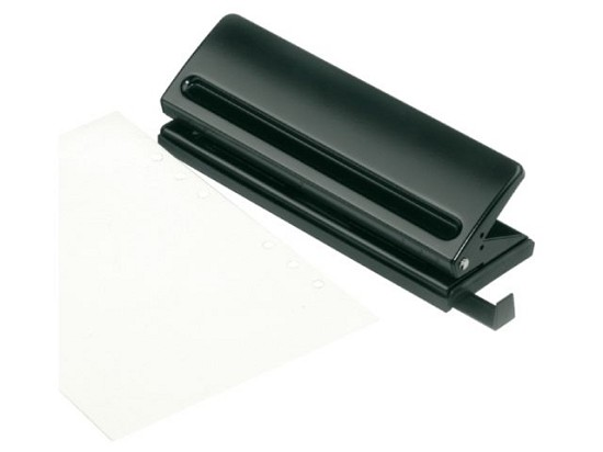 Perforator - 6 gaats A5 - zwart