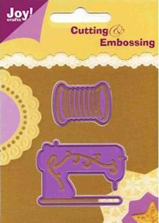 Joy! Crafts Cutting & Embossing - Naaimachine / klosje