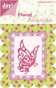 Joy! Crafts - Cutting Die Floral Flourishes - 6003-0006