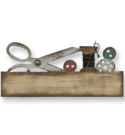 Tim Holtz - On the Edge die - Sewing
