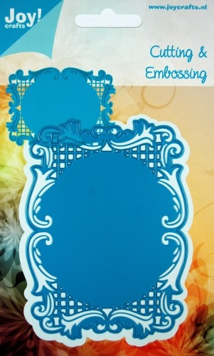 Joy! Crafts - Cutting & Embossingstencil Frame rechthoek
