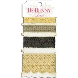 Bo Bunny - Lace Trim Natural Earth
