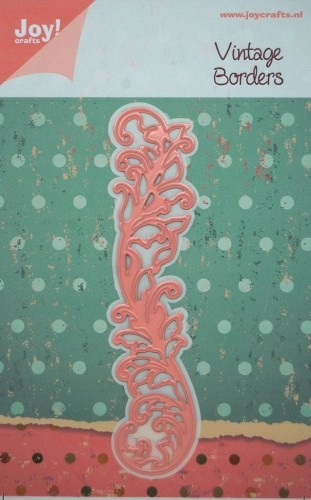 Joy! Crafts - Noor! Design Floral Borders swirl bladeren