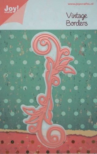 Joy! Crafts - Noor! Design Vintage Borders swirl bladeren