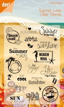 PRE-ORDER 4 - Joy! Crafts - Clearstamp - Summer Holiday