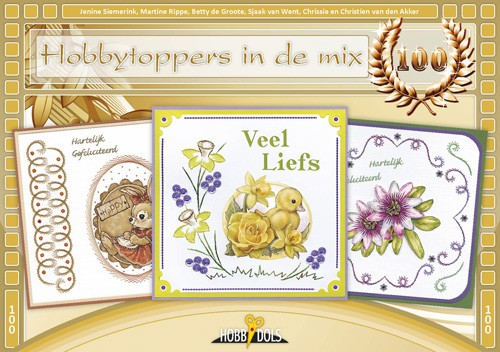 Hobbydols 100 - Hobbytoppers in de mix
