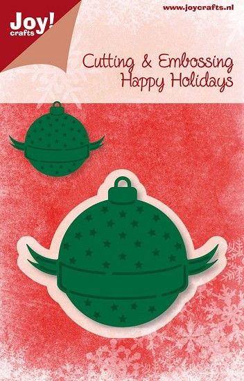 Joy! Crafts - Noor! Design - Happy Holidays - Kerstbal