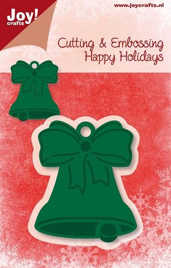 Joy! Crafts - Noor! Design - Happy Holidays - Kerstklok