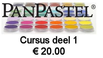 PanPastels cursus - deel 1 - 24 sept