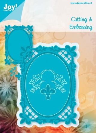 Joy! Crafts - Noor! Design Ovaal Franse Lelie